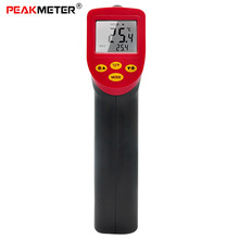 PEAKMETER A530 Non-contact Digital Infrared Thermometer Laser Temperature Gun with Backlight LCD Display -32 - 530 Deg.C