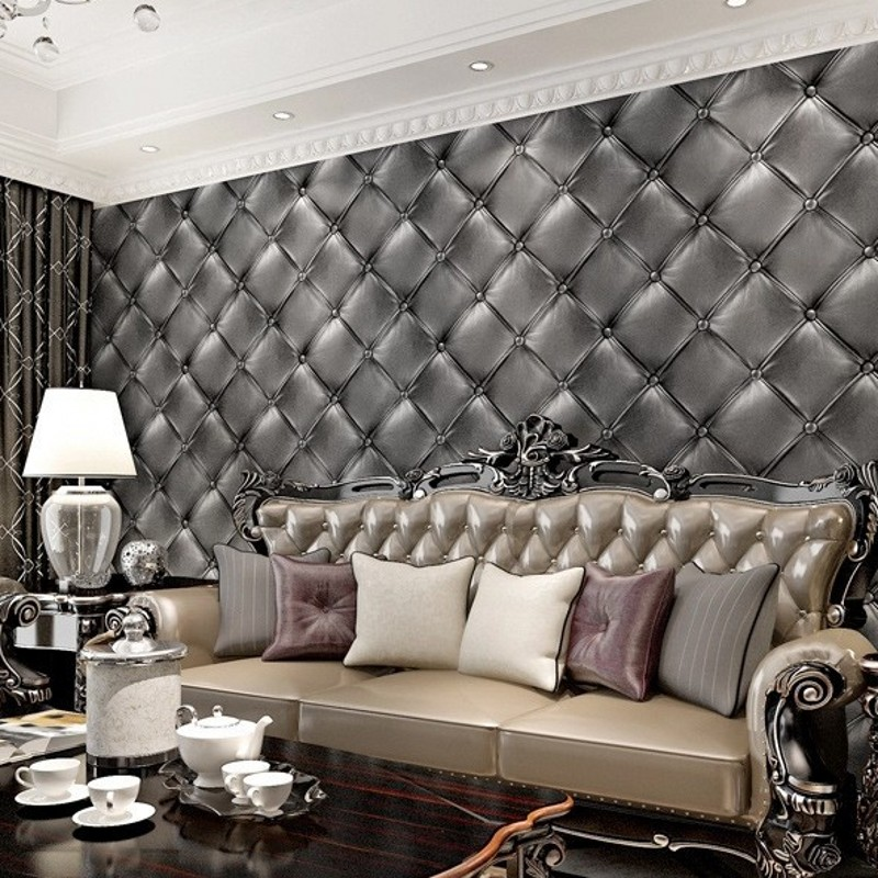 beibehang soft leather bag PVC Wallpapers Wall Paper Papel De Parede Adesivo Tapete Leopard Wallpaper Pvc Bedroom Living Room<br>