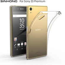 Ultra Slim Soft TPU Clear Phone Case For Sony Xperia Z5 Premium Cover Silicone Thin Transparent Back Fundas Silicon Coque