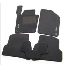 5pcs High Quality Odorless Auto Carpet Mats Perfect Fitted For VW Polo