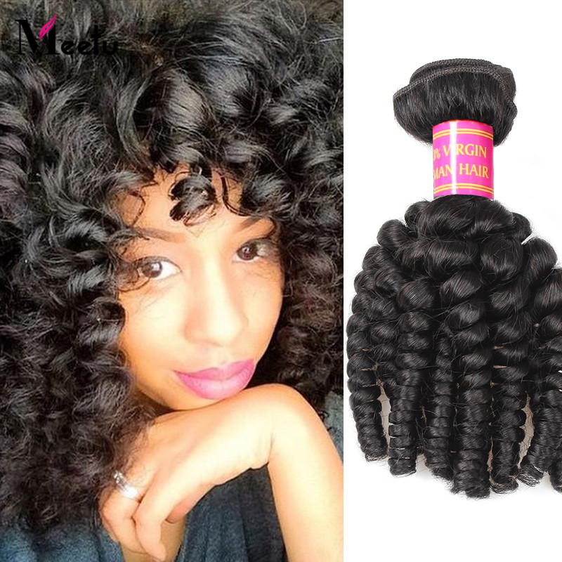 Shipping Free Indian Virgin Human Hair Weave Bundles 100g Bouncy Curly Indian Soft Hair Weaves Natural Color Overnight Shipping<br><br>Aliexpress