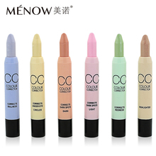 MENOW Contouring Concealer Pen Make Up Nude Corrector Pencil Stick Palette Face Camouflage Brightening for Pore Circle Kit Tools(China)