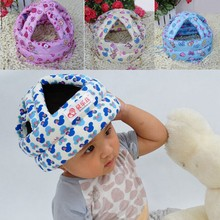 Lovely Character Child Walking Running Headwear Protect Cushion Cap Hat Safety Helmet Headguar
