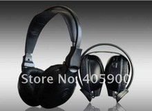 Infrared IR Wireless 2 Channel Stereo Headphones for Car dvd player/Headrest dvd player for kids children, Foldable design