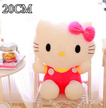 baby toy 20cm plush toys hello kitty toys  for children kids girls classic  stuffed animals soft toy doll brinquedo