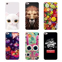 Art Print Flower Case for Lenovo S60 S60a Cell Phone Hard Plastic Protector Funda Capa for Lenovo S60 S60a Back Cover Skin Shell(China)