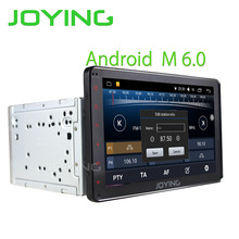 Joying Latest 2Din Android 6.0 Car head unit Stereo HD 8'' Player Stereo Radio For Toyota Corolla Camry Avensis Prius RAV4 Hilux