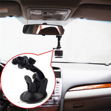 Car Windshield Camera Suction Cup Mount Stand Auto Holder with Tripod Base Camera Connector Bracket for GoPro Hero 4 3+ Xiao Yi
