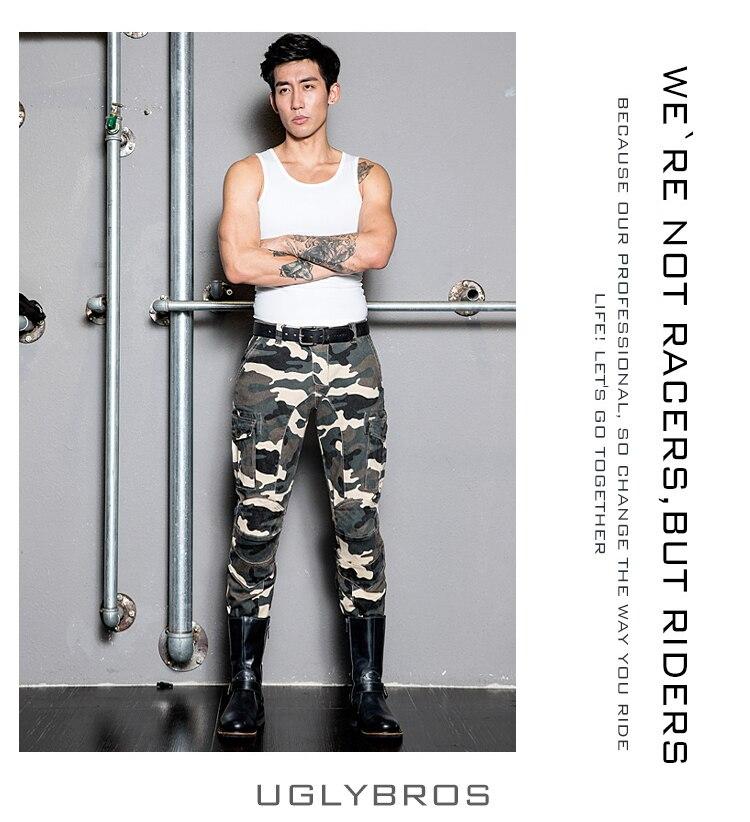 Motorcycle jeans / riding pants lovers Camouflage pantaloni moto uglybros jean<br><br>Aliexpress