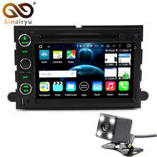 Sinairyu 2 Din Android 6.0 or 7.1 Car DVD GPS For Ford Explorer Fusion Expedition F150 F250 F500 Edge Mustang Tablet PC Radio(China)