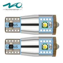 NAO 2x T10 W5W High Power Cree Chip 168 194 CANBUS NO ERROR White LED Upgrade DRL Backup Reverse Map Dome Light Sourcing(China)