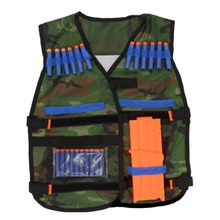 54*47cm New colete tatico Outdoor Tactical Adjustable Vest Kit For Nerf N-strike Elite Games Hunting vest Top Quality(China)