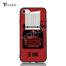 The Shining Printer Fun Art For iPhone 6 6s 7 Plus Case TPU Phone Cases Cover Mobile Protection Decor Gift(China)