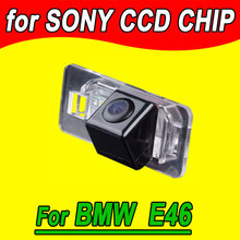 CCD car rear view camera parking back up reverse for BMW E46 E90 E91 E92 E93 E39 E60 E61 E39 waterproof HD night vision