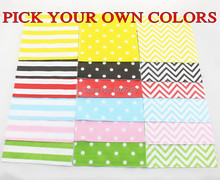 80pcs Cheap Mix Black Red Pink Blue Green Yellow Striped Polka Dot Chevron Paper Napkins,3 Days Delivery on Orders over $100
