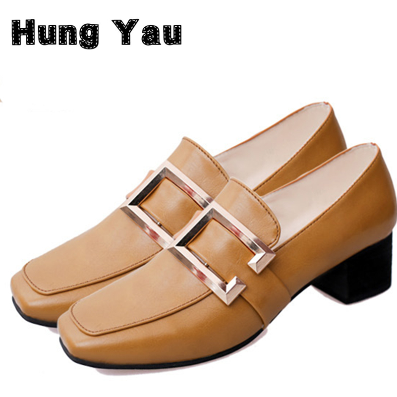 Women Slipper Flats Female Casual Slip On Loafer Flats For Women Cozy Shoes Square Toe 2017 New Spring Fashion Shoes Plus Size 8<br><br>Aliexpress