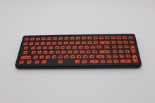 96 DIY Kit Mechanical Keyboard Customized Set PCB Case Plate Stabilizers Underglow SMD RGB Led CNC Feet For LOL OW(China)