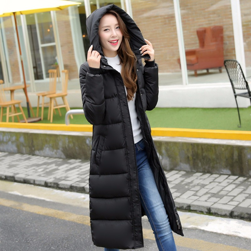 Winter Cotton Padded Jacket Women Slim Thick Stars Print Female Coat women winter Parkas Warm Winter Long Jackets LadY OvercoatОдежда и ак�е��уары<br><br><br>Aliexpress