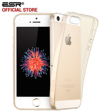 Case for iphone 5s SE, ESR Crystal Clear Ultra Slim Thin 0.8mm Soft TPU Gel Light Weight Protective Cover for iphone SE 5 5s