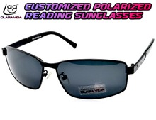 =Polarized Reading Sunglasses= Carbon Fiber black MYOPIA Polarized customized custom made Sunglasses -1 TO -6 +1 +1.5 +2 To +4