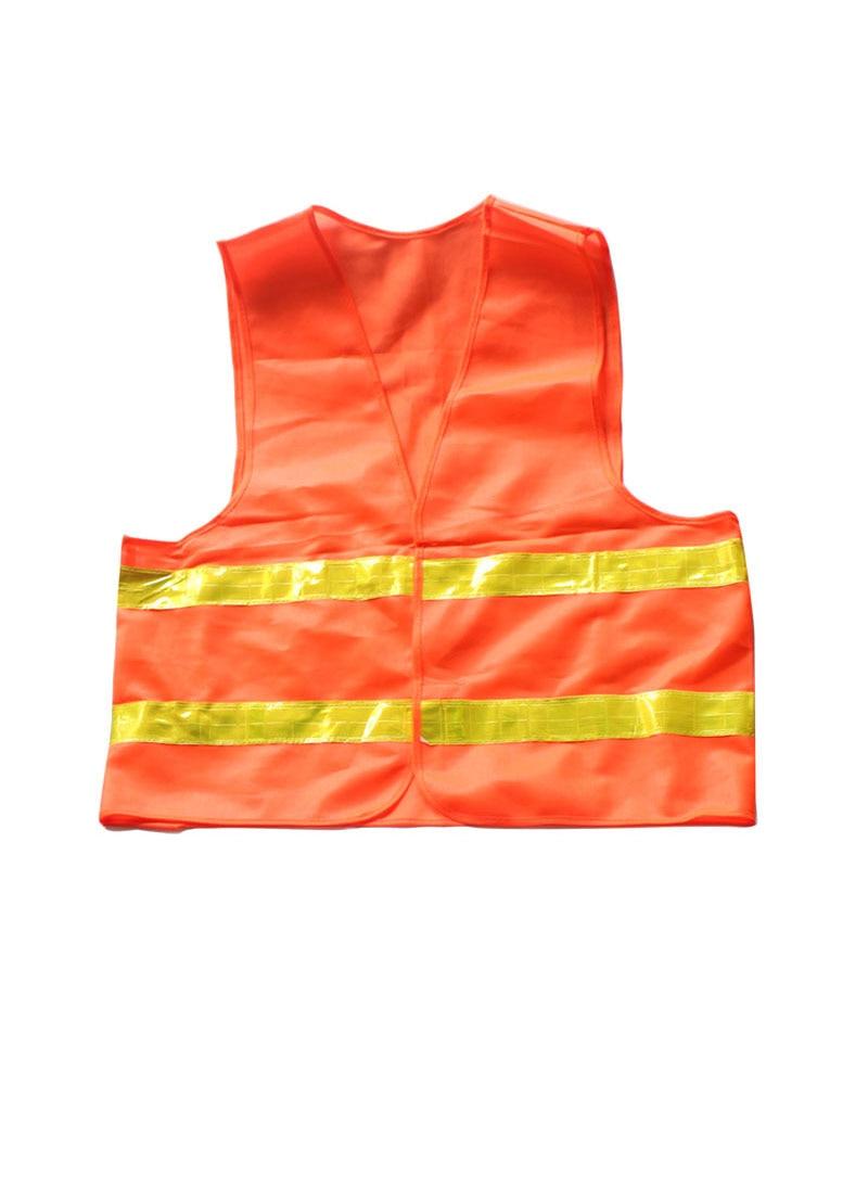 1pcs Car Motorcycle Reflective Vest Auto Safety Clothing High Visibility Traffic Emergency Warning Coat Reflect Stripes Cloth (2)