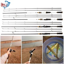 RoseWood M/MH Double Tips Casting Spinning Fishing Rod 2.1m Lure Weight 5-15g Line Weight 5-22LB 99% Carbon White/Black Color