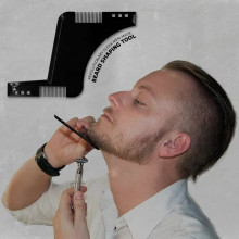 Hot Selling Comb Beard Shaping Tool Sex Man Gentleman Beard Trimmer Template Hair Cut Hair Molding Beard L0041