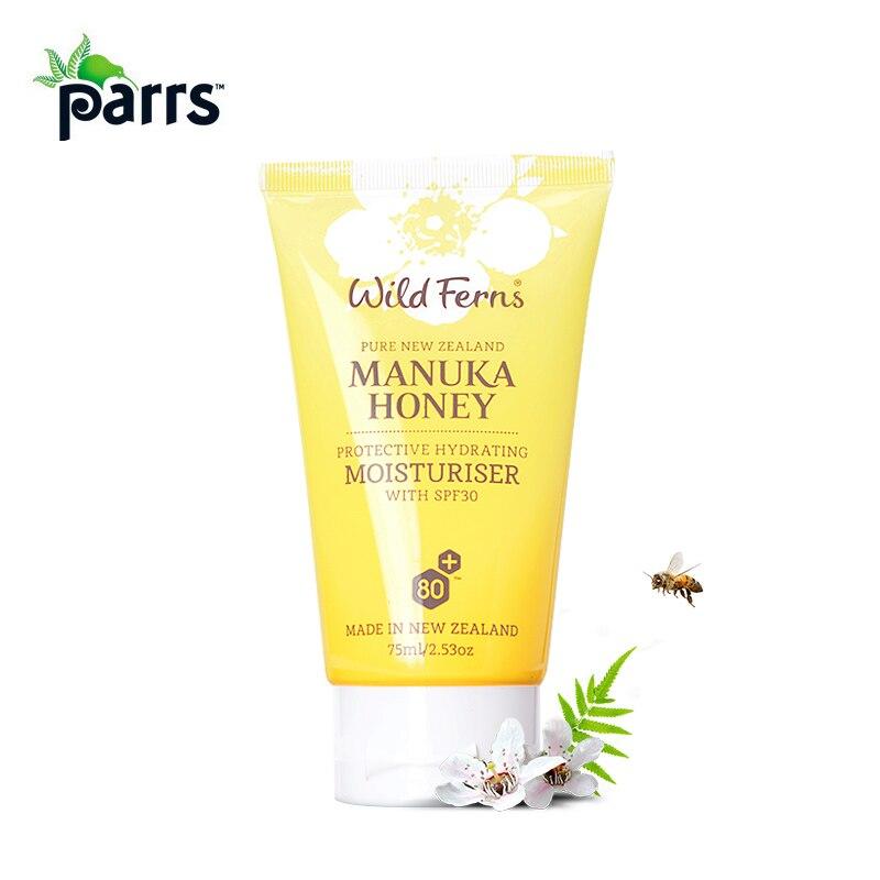 Original NewZealand Parrs Manuka Honey Protective Hydrating Facial Moisturiser SPF30 Face cream Keep skin firmness elasticity<br>