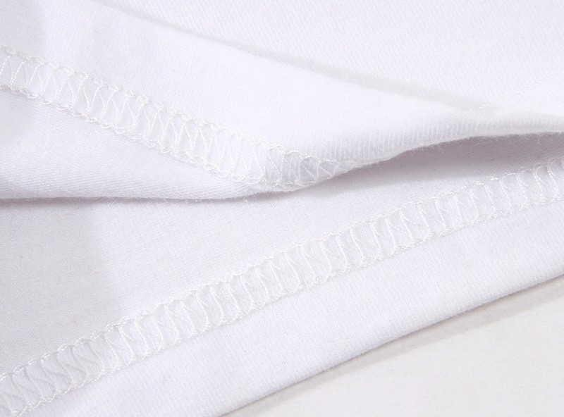 hardwell TShirt men boy Summer O Neck white youth t shirt casual white print anime t-Shirts men top tees MR2863