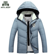 Free shipping 2017 Hot selling casual men down jacket Colorful and fashion down jackets Hat Detachable 7 colors Size M-3XL 75yw1