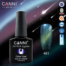 #51024  New Products CANNI 12 Colors Change Color Cat Eyes Gel Polish, Magnetic Cat Gel Polish*12  PCS