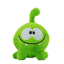 "Kawaii 7"" 20cm om nom Frog Plush Toys cut the Rope Soft Rubber  figure classic toys game lovely Cute Gift for Kids"