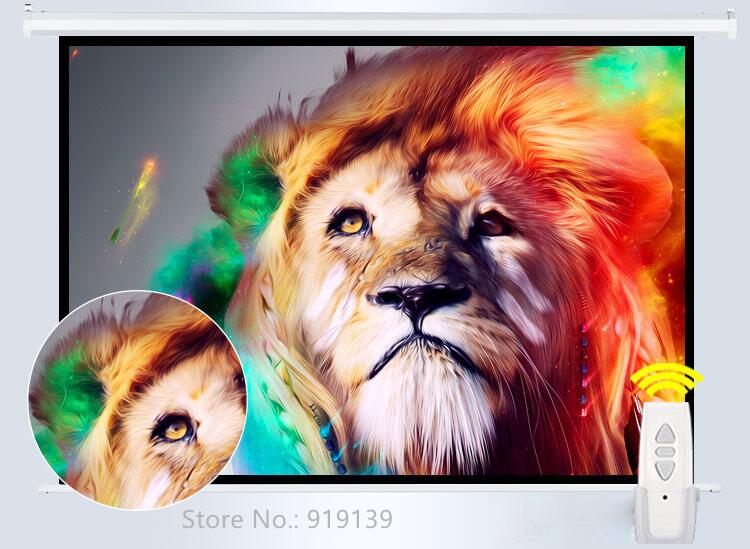120inch 4x3 Electric Screen pic 11
