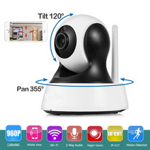 Wireless CCTV Security HD 960P Wifi IP Camera P2P Pan/Tilt Motion Detection Video Baby Monitor 2 Way Audio and IR Night Vision(China)