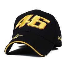 Design F1 Racing Cap Car Motocycle Racing MOTO GP VR 46 Rossi Embroidery Hiphop Cotton Trucker Baseball Cap embroidery hat