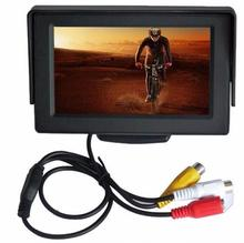 KONNWEI 5 Inch 2 Video Input TFT-LCD Digital Panel Color Car Rear View Monitor(China)