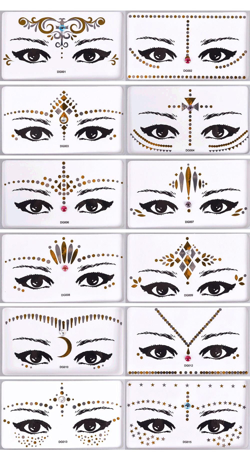Eye Face Tattoo (1)-1