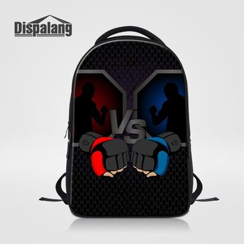 Dispalang Boxing Gloves Printing Laptop Backpack Men Boxeo School Bags For Boys Mochila Masculina College Bagpack Mens Backpacks