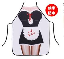 2017 new Designed Maid Personality Aprons Korean Version Creative Women Sleeveless Bib Aprons Kitchen Cleaning Supplies qy157