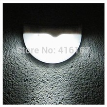 Outdoor 6LED lights Solar powerd pathway Up-stair wall mounted garden fence yard lamp solar panel led lamp led stair lamp