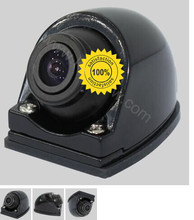 Newest 360 Car Rear+front view Camera position aviable front back side U-boat Type Side Camera to connect DVD/monitor parking(China)