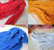 DIY 12 Colors 20meter 1MM Beading elastic Stretch Cord Beads Cord String Strap Rope For Bracelet Making