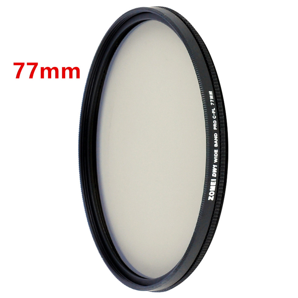 Zomei HD High Definition CPL Circular Polarizer Polarizing Filter for DSLR Camera Lens 49mm 52mm 58mm 62mm 67mm 77mm 82mm 9