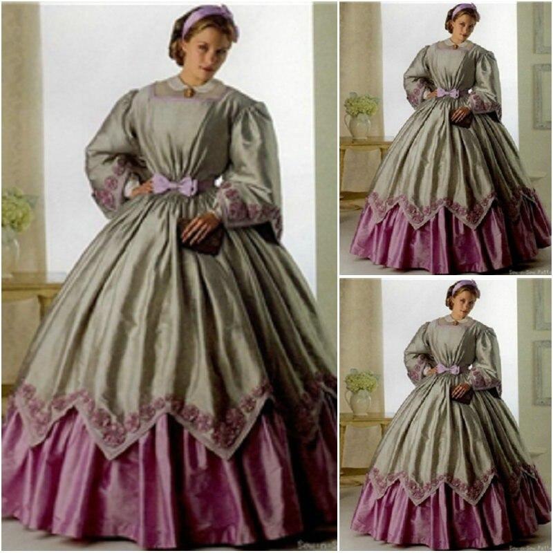 В Викторианском Стиле Платье Купить