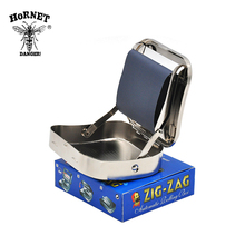 Metal Automatic Cigarette Tobacco Roller Rolling Machine Box for 70MM SIZE Rolling Paper Rolling Machine Case(China)