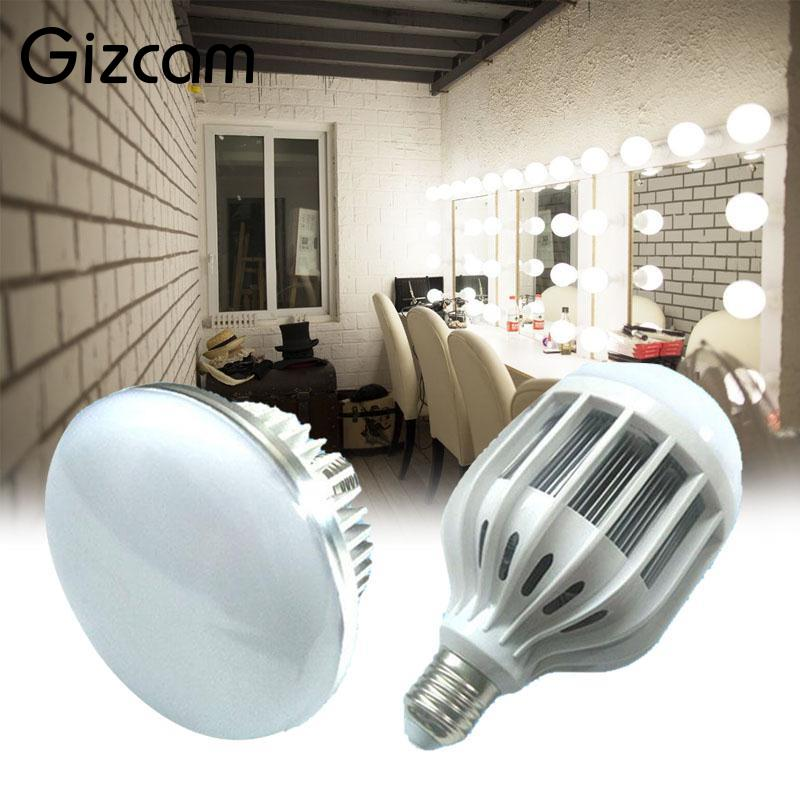 Gizcam E27 Photography Photo 65W 5500K LED Light Bulb Continuous Video Lighting Lamp Professional Photographic Lighting Gift