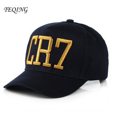 TEQING 2017 New Fashion Cristiano Ronaldo CR7 Baseball Caps Hip Hop  Snapback Football Hat Chapeu For Men And Women Y-267