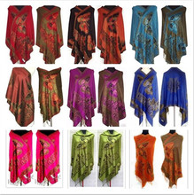 Hot!! 11 styles New Double-Side butterfly Women's Cashmere Pashmina Shawls/Scarf Scarves Wrap(China)