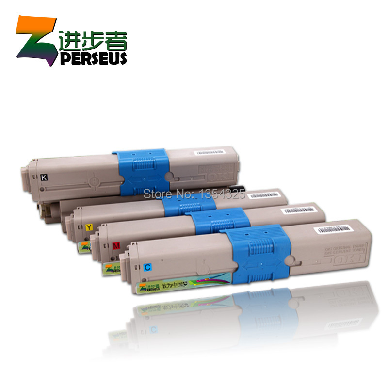 4 Pack HIGH QUALITY TONER CARTRIDGE FOR OKI MC561 MC561N MC561DN MC561TN PRINTER COMPATIBLE OKI 44469810/754/753/752<br>
