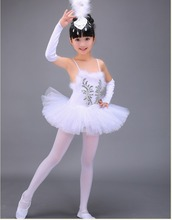 Professional White Swan Lake Ballet Tutu Costume Girls Children Ballerina Dress Kids Ballet Dress Dancewear Dance Dress For Girl(China)